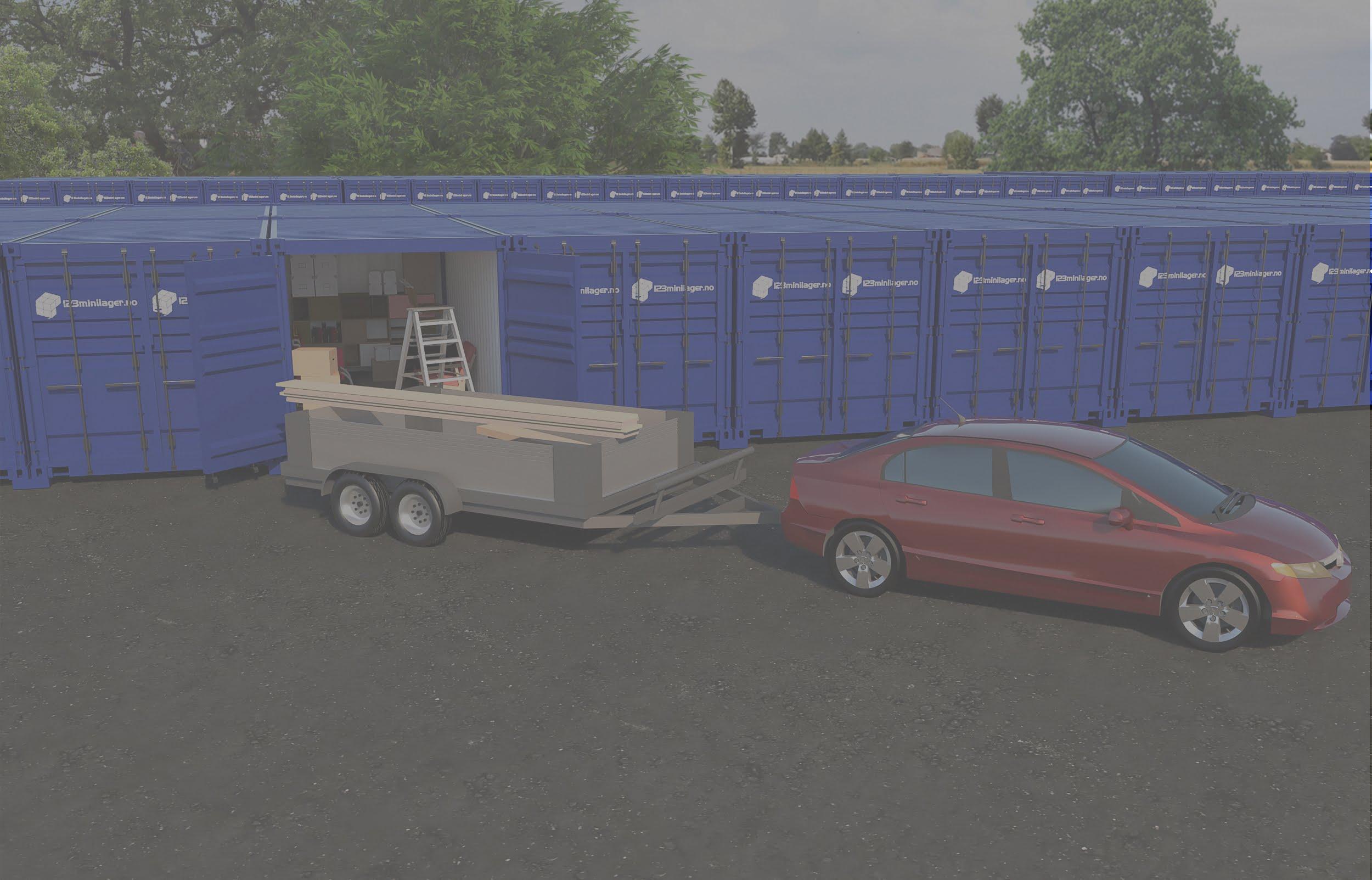 Leie flere containere