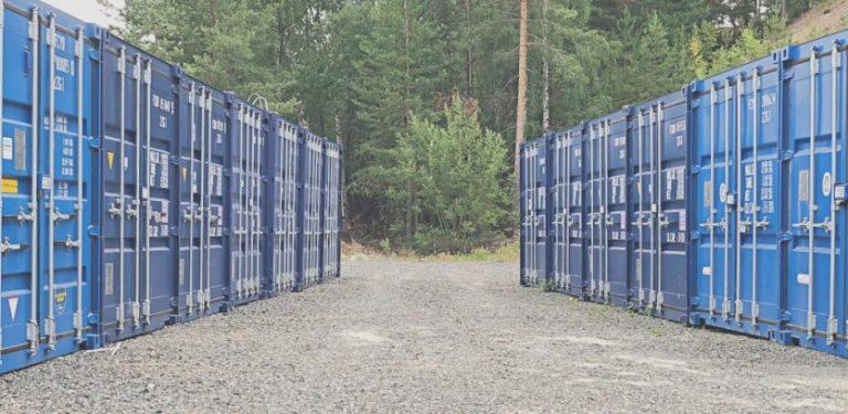 Lager i Gomsrudveien i Kongsberg