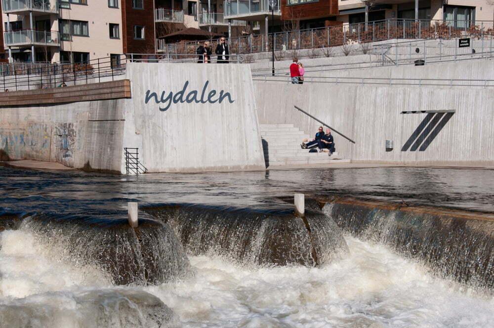 Lager i Nydalen i Oslo